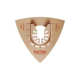 EXTOL-PREMIUM EX8803860 Rašple trojúhelníková, 78mm, tvrdokov Příslušenství k bruskám