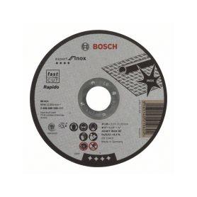 BOSCH 2608600549 Dělicí kotouč rovný Expert for Inox - Rapido - AS 60 T INOX BF, 125 mm, 1,0 mm - 316514021 Řezné kotouče