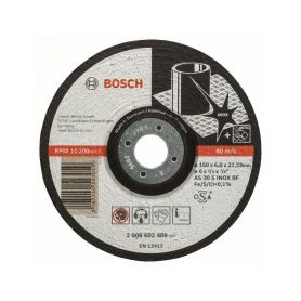 BOSCH Hrubovací kotouč profilovaný Expert for Inox - AS 30 S INOX BF, 150 mm, 6,0 mm - 316514052 BOSCH