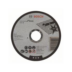 BOSCH 2608603170 Dělicí kotouč rovný Standard for Inox - WA 60 T BF, 115 mm, 22,23 mm, 1,6 mm - 31651406582 Řezné kotouče