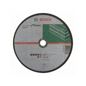 BOSCH Dělicí kotouč rovný Standard for Stone - C 30 S BF, 230 mm, 22,23 mm, 3,0 mm BOSCH