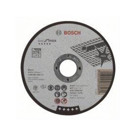 BOSCH Dělicí kotouč rovný Best for Inox - A 46 V INOX BF, 125 mm, 1,5 mm - 3165140733489 BOSCH