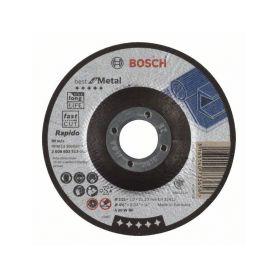 BOSCH 2608603513 Dělicí kotouč profilovaný Best for Metal – Rapido - A 60 W BF, 115 mm, 1,0 mm Řezné kotouče