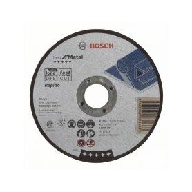 BOSCH Dělicí kotouč rovný Best for Metal – Rapido - A 60 W BF, 125 mm, 1,0 mm BOSCH