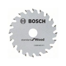 BOSCH 2608643071 Pilový kotouč Standard for Wood 85x15x1,1/0.7mm 20z pro GKS 10.8 V-LI - 3165140754279 Pilové kotouče