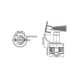 Odpuzovač hlodavců a koček pro vnitřní prostory 230V