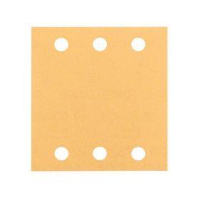 BOSCH Brusný papír C470, balení 10 ks; 115 x 107 mm, P120 BOSCH 4-2608607458