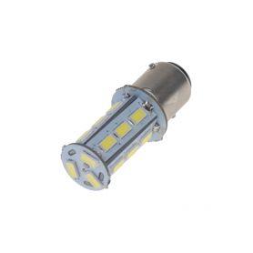 95156 x LED BAY15d (dvouvlákno) bílá, 12V, 18LED/5730SMD Patice BAY15D