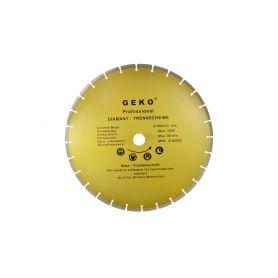 GEKO G00256 Diamantový řezný kotouč segmentový, 400x8x32mm Diamantové řezné kotouče