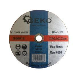 GEKO G00018 Řezný kotouč na ocel, 230x2,5x22,2mm Řezné kotouče