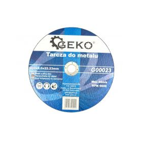 GEKO G00023 Řezný kotouč na ocel, 230x2,0mm Řezné kotouče