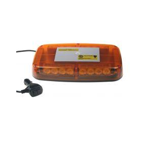 x Rampa oranžová, 24LEDx1W, magnet, 12-24V, 280mm, ECE R10