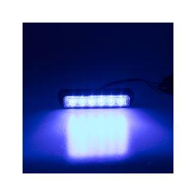 KF006E3WBLU PREDATOR 6x3W LED, 12-24V, modrý, ECE R10 Vnější ostatní