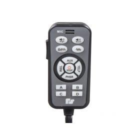 LED - symbol  1-47202 Tlačítko velké hranaté červené 47202