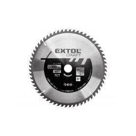 EXTOL-CRAFT EX19116 Kotouč pilový s SK plátky, 300x2,0x30mm, 60T, šířka SK plátku 3,3mm Pilové kotouče