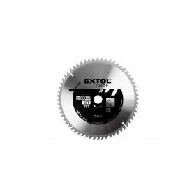 EXTOL-CRAFT EX19119 Kotouč pilový s SK plátky, 350x2,2x30mm, 60T, šířka SK plátku 3,5mm Pilové kotouče
