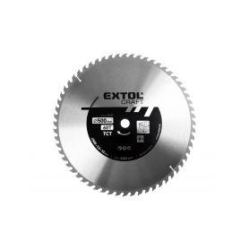 EXTOL-CRAFT EX19122 Kotouč pilový s SK plátky, 400x2,5x30mm, 60T, šířka SK plátku 3,8mm Pilové kotouče