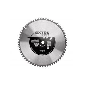 EXTOL-CRAFT EX19125 Kotouč pilový s SK plátky, 500x3,0x30mm, 60T, šířka SK plátku 3,8mm Pilové kotouče