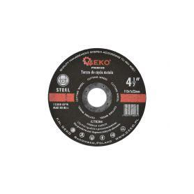 GEKO G78204 Kotouč řezný na kov, 115x2mm Řezné kotouče