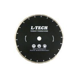 GEKO Diamantový řezný kotouč segmentový, 350x8x25,4mm GEKO