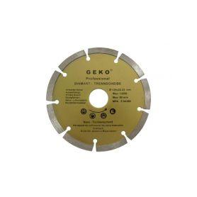 GEKO Diamantový řezný kotouč segmentový, 115x22mm GEKO