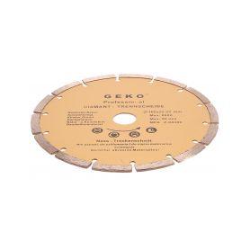 GEKO Diamantový řezný kotouč segmentový, 180x22mm GEKO