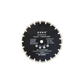 GEKO G00279 Diamantový řezný kotouč na asfalt, 350x25,4 mm Diamantové řezné kotouče