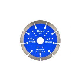 GEKO G78311 Řezný kotouč diamantový segmentový, 125x22x10mm Diamantové řezné kotouče