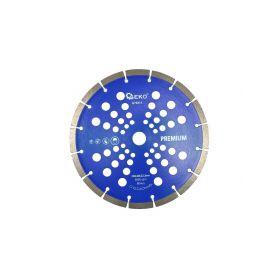 GEKO G78313 Řezný kotouč diamantový segmentový, 230x22x10mm Diamantové řezné kotouče