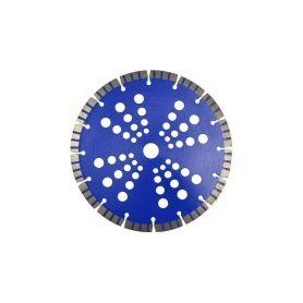 GEKO G78323 Řezný kotouč diamantový segmentový, 230x22x10mm Diamantové řezné kotouče