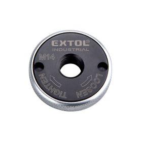 EXTOL-INDUSTRIAL EX8798050 Matice rychloupínací pro úhlové brusky, click-nut, M14 Brusky - příslušenství
