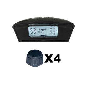 TPMS401 TPMS kontrola tlaku v pneumatice 4 externí čidla Osobní automobily
