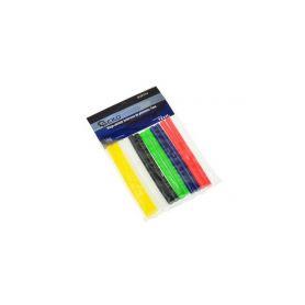 GEKO G20114 Tyčinky tavné pro lepící pistoli barevné 7mm 12ks Pro pájky a pistole