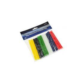 GEKO G20115 Tyčinky tavné pro lepící pistoli barevné 11mm 12ks Pro pájky a pistole