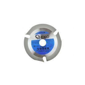 GEKO G78125 Řezný kotouč na dřevo pro úhlovou brusku 125X22,23mm Řezné kotouče