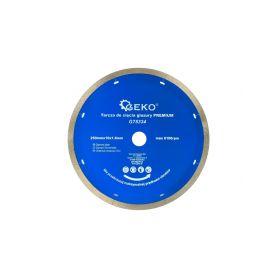 GEKO G78334 Diamantový řezný kotouč na keramické dlaždice 250mm x 10 x 1,6mm Diamantové řezné kotouče