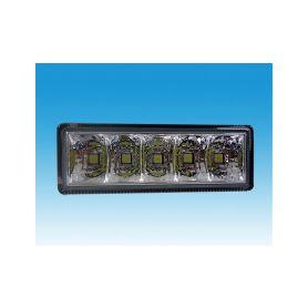 DRLTOP100/2 LED světla pro denní svícení, 100x35mm, ECE Denní svícení UNI