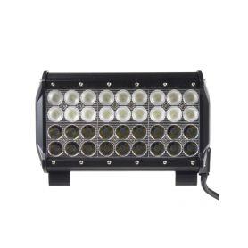 WL-CREE108-2C LED rampa,dva úhly vyzařování 8/60°, 36x3W, 235x93x167mm Pracovní světla a rampy