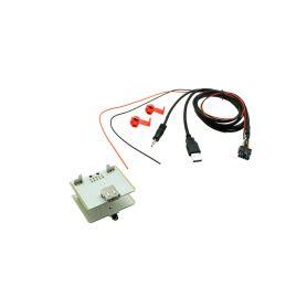 551FA1 USB+JACK konektor Fiat 500L, Ducato, 500X USB/AUX kabely