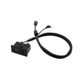 551VW2 USB+JACK konektor Volkswagen Golf VII 2013- USB/AUX kabely