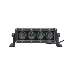 WLDR405 x LED rampa, 4x10W, 230x79x92mm, R112 Halogenová + HID světla