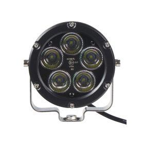 WLD501 LED světlo kulaté, 5x10W, ø105mm, R112 Halogenová + HID světla
