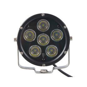 WLD601 LED světlo kulaté, 6x10W, ø125mm, R112 Halogenová + HID světla