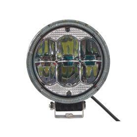 WLD603 LED světlo kulaté, 6x10W, ø177,8mm, R112 Halogenová + HID světla