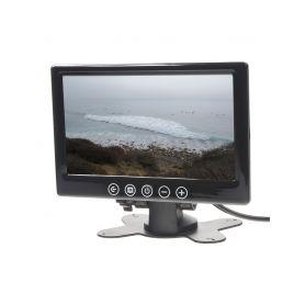 """IC-716T LCD monitor 7"""" černý na palubní desku Monitory na opěrky"""