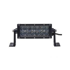 WLDR236 x LED rampa, 12x3W, 206x86,5x78,5mm, R112 Halogenová + HID světla