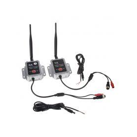 SVWDT3AHD Sada přijímač/vysílač pro digitální bezdrátový VIDEO přenos, AHD, 4xPIN konektory 4PIN příslušenství