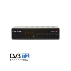 DVB-T2H2 DVB-T2 / HEVC / H.265 set-top box / multimediální přehrávač s USB / SCART / HDMI / RJ45 / PWR TV Tunery DVB-T