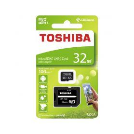 8032GCL10TO Paměťová karta TOSHIBA micro SDHC 32GB včetně adaptéru Příslušenství záznamových kamer