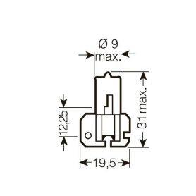 CarClever OSRAM 12V D1S 35W xenarc ORIGINAL (1ks) 1-os66140